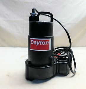 1 3 Hp Submersible Sump Pump No Switch Included Switch Type Cast Iron Base