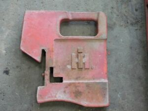International Harvester Tractor Suitcase Weight 100lb Tag 117
