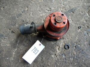 Allis Chalmers C Tractor Engine Water Pump Tag 793