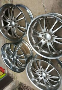 24 Boss Motorsports Chrome Wheels Rims