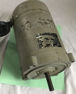 A O Smith 1 2 Hp Electric Motor 7 6 Amp 115 230 V C48j2da152a3 3450 Rpm Pe