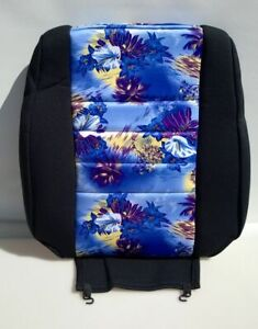 Wet Okole Seat Cover Purple Aloha Pattern Top Only Replacement Part