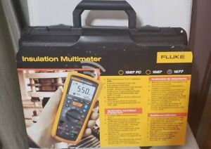 Fluke 1577 True rms Megohmmeter insulation Resistance Tester And Multimeter