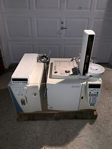 Thermo Quest Trace Gc 2000 Chromatograph W Finnigan Polaris As Autosampler Tray