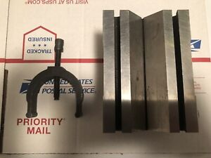 Large Machinist V block In Excellent Condition Machinist toolmaker Tools