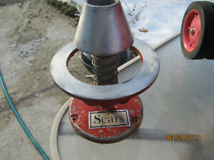 Vintage Sears Roebuck Co Original used Portable Wheel Balancer