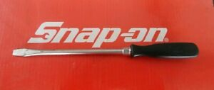 Snap On Tools 8 Flat Tip Hard Handle Screwdriver Ssd8 Ships Free