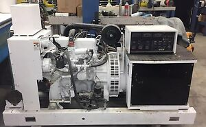 Kohler Ford 30kw Generator 30rz 208 Natural Gas Emergency Continuous Site Power