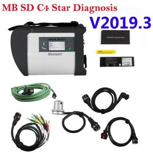 V2018 9 Mb Sd C4 Connect Compact 4 Star Obd2 Diagnostic Tool For Cars And Trucks