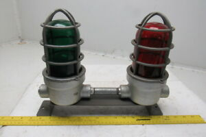 Crouse Hinds Vc275 m5 Explosion Proof Industrial Red Green Lights