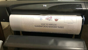 Hp Designjet 800 c7780b 42 Wide Large Format Printer