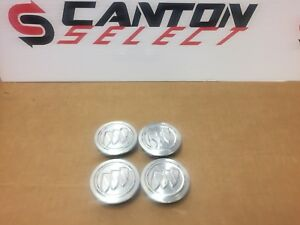 Buick Regal Lacrosse Verano Polished Aluminum Center Cap Oem Set Of 4