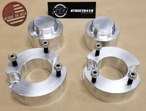 sr 3 Front 2 5 Rear Billet Leveling Spacer Lift Kit 02 09 Chevy Trailblazer