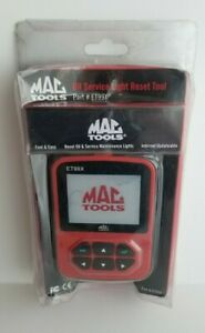 Mac Tools Oil Service Light Reset Tool New Et99x