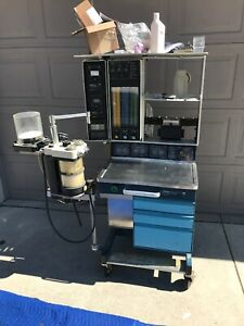 Datex Ohmeda Modulus Ii Anesthesia Machine With 7000 Ventilator