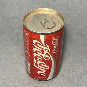 SEALED EMPTY Vintage Coca Cola Coke Can from ISRAEL Factory Error