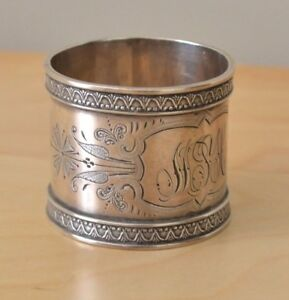 Wood Hughes Aesthetic Design Sterling Silver Napkin Ring