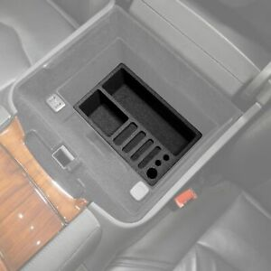 Fits Cadillac Escalade 2015 19 Vehicle Organizer Insert Center Console Glove Box