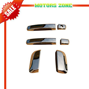 For 05 10 For Nissan Pathfinder Chrome Door Handle Covers Trims