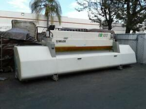 Biesse Selco Eb 120 Panel Saw W lift Table woodworking Machinery