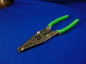 Snap on Pwcs9cf 9 Long Extreme Green Wire Stripper Crimper Cutter Usa new