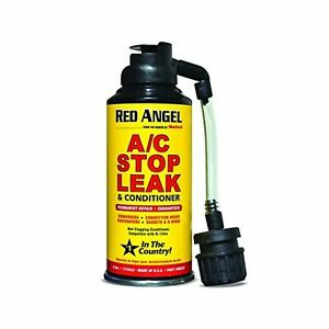 Red Angel A C Stop Leak Conditioner Air Coldest Mechanic Cars Freon Repair Tools