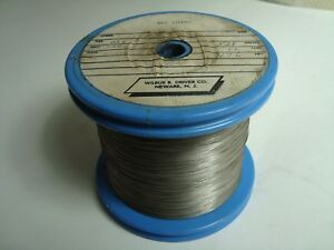 Nos Wilbur B Driver Pure Nickel 014 Round Wire 4 76 Lbs Spool