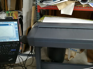 Hp Designjet 4500 Large Format Scanner With Stand Complete Setup