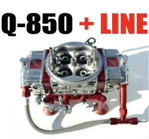 Quick Fuel Q 850 850 Cfm Mech Drag Race Gas With 6 Line Kit In Stock Now