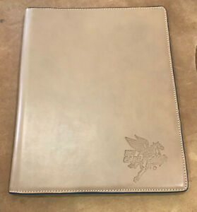 New Korchmar Atlas Of Boston Leather Note Pad Cover 165