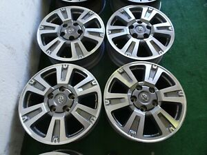 4 Toyota Tundra Oem Factory 20 Wheels Rims Fits 2007 To 2018 Tundras Platinum