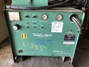 Thermal Arc Pak10 Plasma Cutter 3 Phase 208 230 460 Volts 60 50 25 Amps