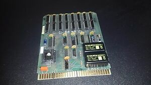 Tokheim Gas Pump Parts 416723 2 Mems 2 Ram Board