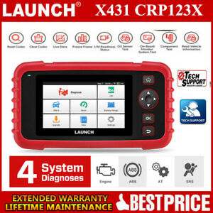Launch X431 Crp123x Obd2 Scan Tool Auto Code Reader Obdii Car Diagnostic Scanner