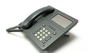Avaya 9641g Digital Phone Voip With Handset And Stand 700480627