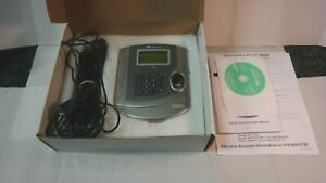 Acroprint Timeqplus Tq100 Biometric Time Q Plus Clock Terminal
