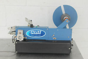 Clm Columbia Labeling Machinery Aid 1000 Labeler Machine