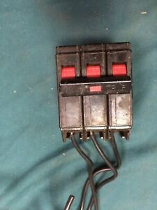 Cutler hammer 3 Phase 20 Amp 240 Volt Common Trip Circuit Breaker