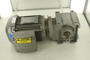 Sew Eurodrive S37drs71m4 Gear Motor 12 48 Ratio New
