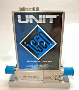 Unit Mass Flow Controller 200 Sccm Cl2 Ufc 1660 Used Working