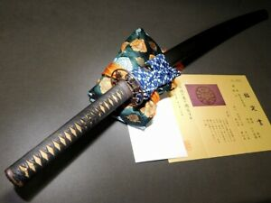 Superb Skull Menuki Katana Koshirae W Certificated Tsuba Japanese Edo Antique