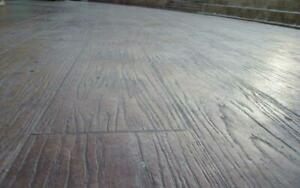 Polyurethane Stamp Stone Decorative Border deck Concrete For A Floor And Paths