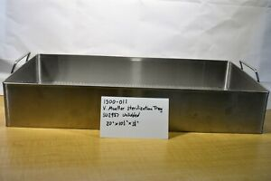 V Mueller Sterilization Tray Su2987 Unlidded 1500 011