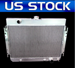 3 Row Aluminum Radiator For Chevy Bel air malibu biscayne 1964 1965 1966 1967