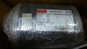 Dayton 3n178bb Electric Motor 3ph 60hz 1hp 3450rpm 208 230 460 Fr 56 Rigid Cont
