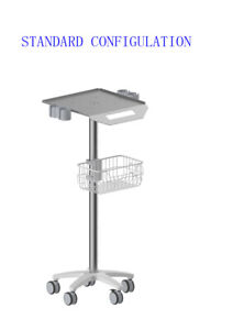 Mobile Cart For Ultrasound Imaging System Cutomizable Fixed Height fda