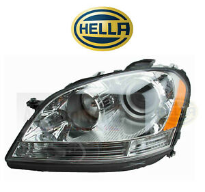 Left Headlight Assembly Oem Hella For Mercedes benz W164 Ml320 Ml350 Ml500 Ml550