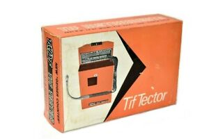 Tif Tector 200 Halogen Leak Detector With Case new Old Stock Vintage