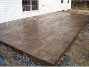 Concrete Stamp Stone Decorative Polyurethane board For The Floor And Tracks