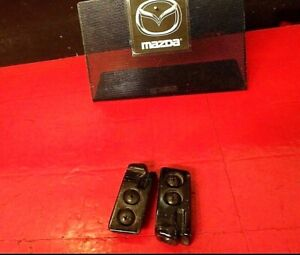 90 97 Mazda Miata Convertible Top Front Holder Bracket Bolt Left Right Set Oem